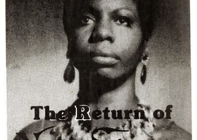 Return of Nina Simone 26 Nov 1983