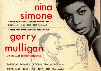Hunter College Concert Poster