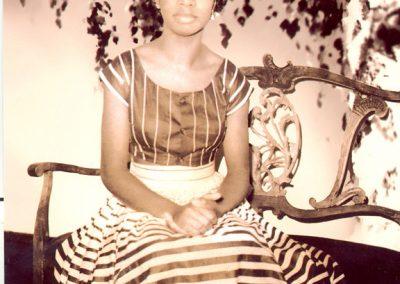 Eunice Waymon. Age 17
