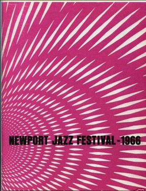 Newport Jazz Festival program.
