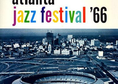 1st Annual Atlanta Jazz Festival program