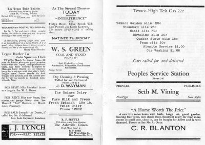 TDB March 1929 front