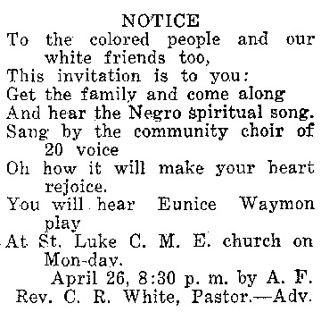 Tryon Daily Bulletin.24 April 1943 issue